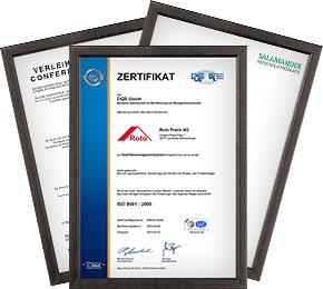 Certificate TopGlass