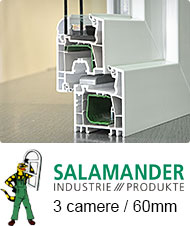 Profil Salamander 3 camere | Tamplarie PVC