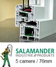 Profil Salamander 5 camere | Tamplarie PVC