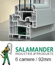 Profil Salamander 6 camere | Tamplarie PVC